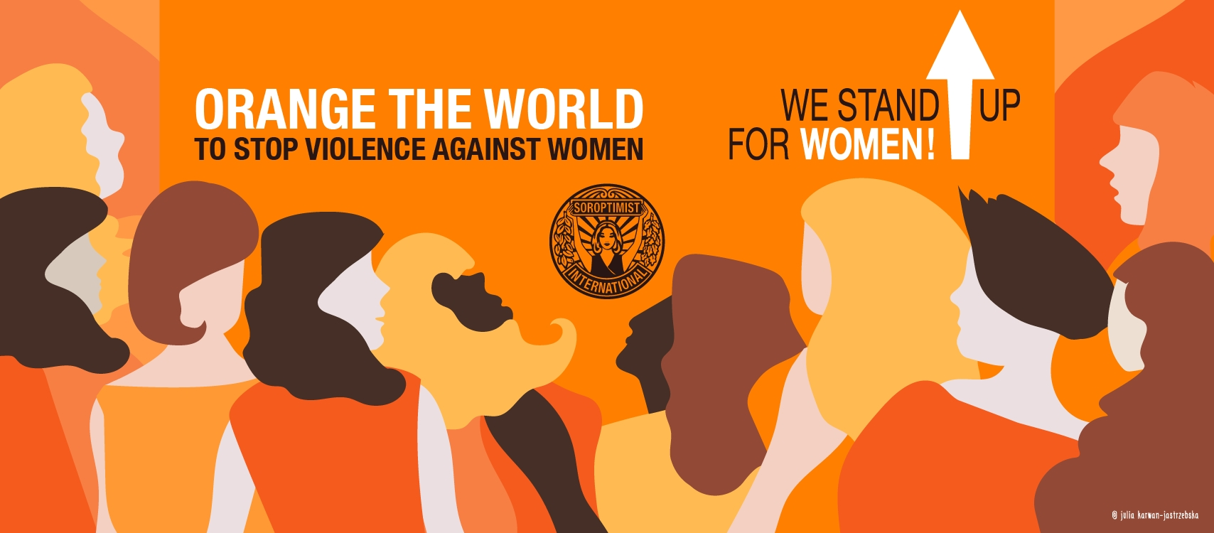 Orange the world – Stand up for Women